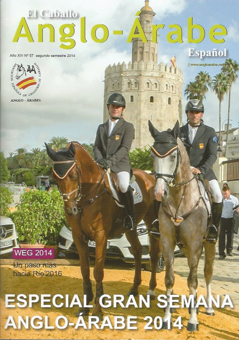 revista caballlo anglo-arabe 57