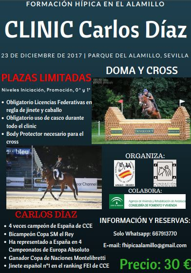Cartel clinic Carlos Diaz