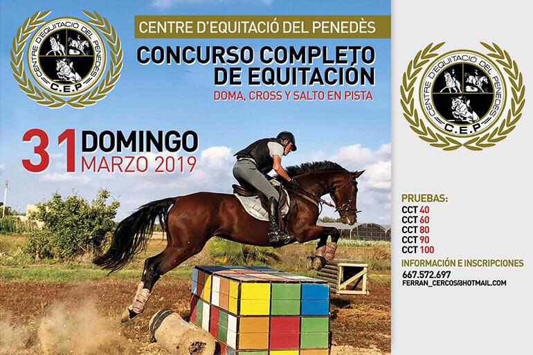 PSCJ de CCE de Centre d'Equitació del Penedés