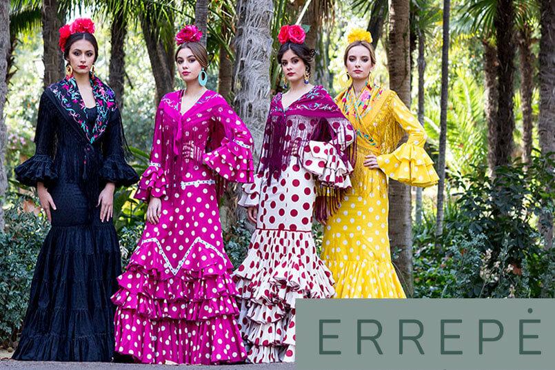 traje flamenca de errepe