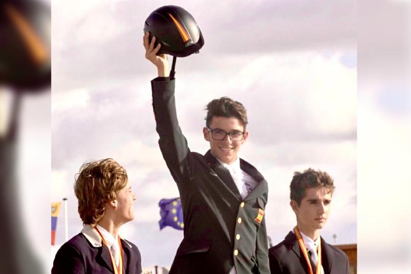 marçal piro gana el campeonato de españa juvenil de CCE