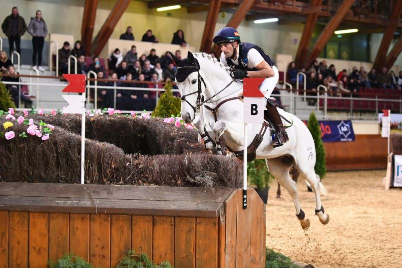 Albert Hermoso y Quilate Indoor Saumur